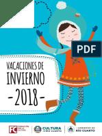 Actividades de invierno para los chicos organizadas por la Muni de Río Cuarto