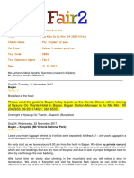 Itinerary for Pty. Snijders (2 Pax) - Sittwe - Mrauk U - Revised-1