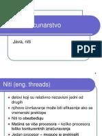 Java niti