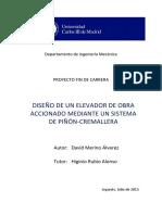 PFC David Merino Alvarez