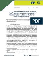 Análisis de La Ley de Ordenamiento Territorial en El Contexto Posterremoto 1