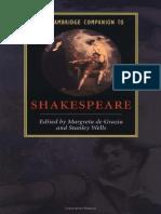 The Cambridge  Companion to Shakespeare.pdf