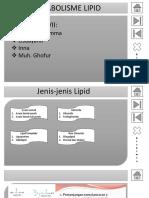 Kelompok VII Metabolisme Lipid
