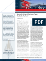Women in Turkey -- What is on Paper, What is in Practice?