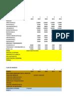 Flujo de Caja Proyectosss