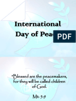 International Peace Day PowerPoint