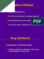 Ethanol Metabolism