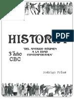 Dossier para Historia 3º año (C.B.C)