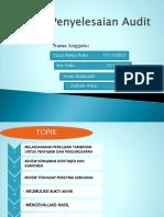 Penyelesaian Audit.ppt