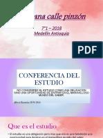 Conferencia Del Estudio