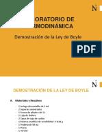 Laboratorio de Gases Ley de Boyle UPN