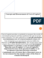 1Cost of Capital
