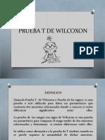 Prueba t de Wilcoxon