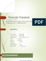 Laporan Kasus Periodic Paralysis