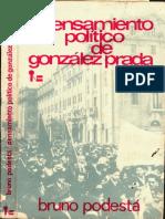 Pensamiento Político de Gonzalez Prada