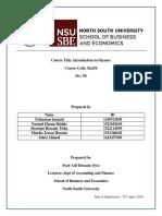 Fin 254 Final Report