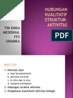 11. Hubungan Kualitatif Struktur-Aktivitas Ok