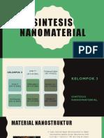 Sintesis nanomaterial