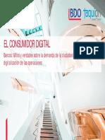 Consumidor Digital Bancos BDO Taquion