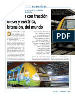 Consumos Tren Diesel
