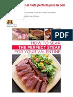 Cómo Cocinar El Filete Perfecto