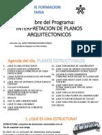 Interpretacion de Planos Estructurales