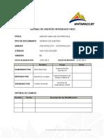 Apendice D Gestión HSEC de Contratistas