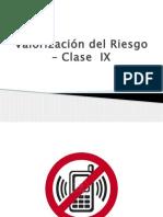 Valorización Del Riesgo