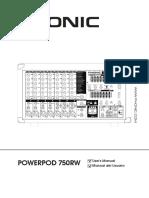 Um Powerpod750rw en Es