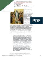 La Virgen María, Madre de La Iglesia _ Desde Mi Campanario