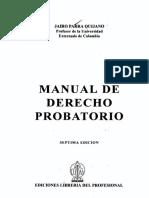 BELM-9208(Manual de derecho probatorio -Parra).pdf