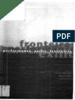 Peformance, Exílio, Fronteiras - Errâncias Territoriais e Textuais
