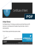 Abhijan Biswas Hired Certificate (3)