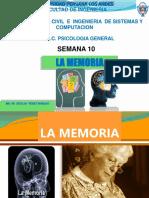 La Memoria PSicologia