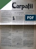 Carpatii Anul II Nr 12 10 Martie 1956