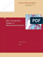 Paul-Peter Tak-New Therapeutic Targets in Rheumatoid Arthritis (Progress in Inflammation Research)-Birkhäuser Basel (2009)