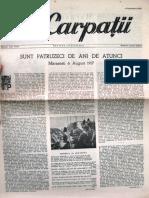 Carpatii Anul IV Nr 21 10 Sept 1957
