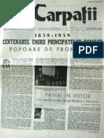 Carpatii Anul VI Nr 30-31-10 Martie 10 Mai 1959