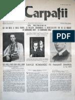 Carpatii Anul VIII Nr 2-3-10 Mai 10 Iulie 1962