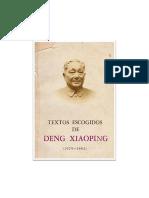 Deng-xiaoping-Los Cuatro Puntos Fundamentales