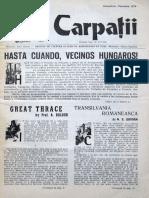 Carpatii Anul XXII Nr 1 Octombrie Noiembrie 1976
