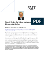 Stencil Design for Mixed-technology Placement Reflow 000