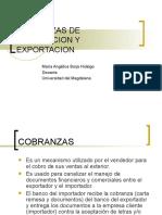 3. Cobranzas de Importacion y Exportacion