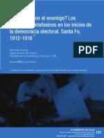 ¿Gobernar con el enemigo? Los radicales santafesinos en los inicios de la democracia electoral. Santa Fe, 1912-1916