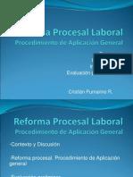 El Procedimiento Laboral Ordinario - Sr. Cristián Pumarino R.