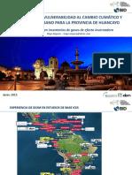 Estudio de Cambio Climatico - Huancayo