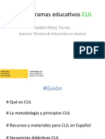 programas educativos CLIL