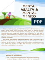 Mental Health & Mental Illness