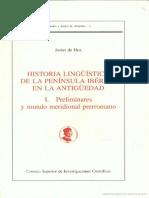 De Hoz, Historia Linguistica