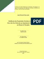 Modificação das Propriedades Mecânicas do Polietileno de Ultra-Alto Peso Molecular por Implantação Iônica por Imersão em Plasma de Nitrogênio